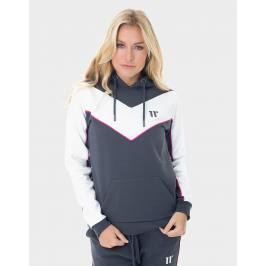 Donde comprar 11 Degrees Chevron Panel Hoodie - Only at JD, Gris