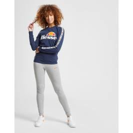 Ellesse Tape Long Sleeve Boyfriend T-Shirt - Only at JD, Azul