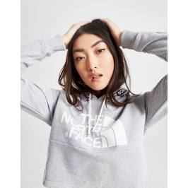 The North Face Tape Crop Hoodie - Only at JD, Gris