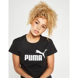PUMA Core T-Shirt, Negro Tops