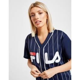 Fila Stripe Baseball T-Shirt - Only at JD, Azul