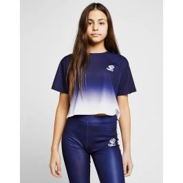 Donde comprar ILLUSIVE LONDON Girls' Fade Crop T-Shirt Junior - Only at JD, Azul